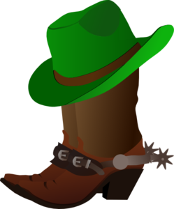 Boot Hat Green Clipart png free, Boot Hat Green transparent png