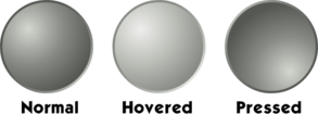 Grey Web Button Template Clipart png free, Grey Web Button Template transparent png