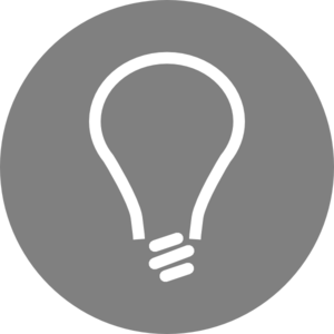 Light Bulb Icon Clipart png free, Light Bulb Icon transparent png