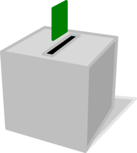 Voting Box Clipart png free, Voting Box transparent png
