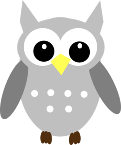 Yellow Gray Owl Clipart png free, Yellow Gray Owl transparent png