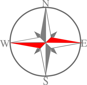 Red Grey Compass 1 Clipart png free, Red Grey Compass 1 transparent png