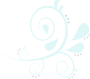 Paisley Swirl Blue/Grey Clipart png free, Paisley Swirl Blue/Grey transparent png