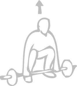 Weight Training Clipart png free, Weight Training transparent png