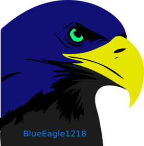 Blue Eagle New Logo Clipart png free, Blue Eagle New Logo transparent png