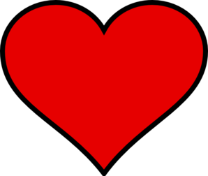 Heart1 Clipart png free, Heart1 transparent png