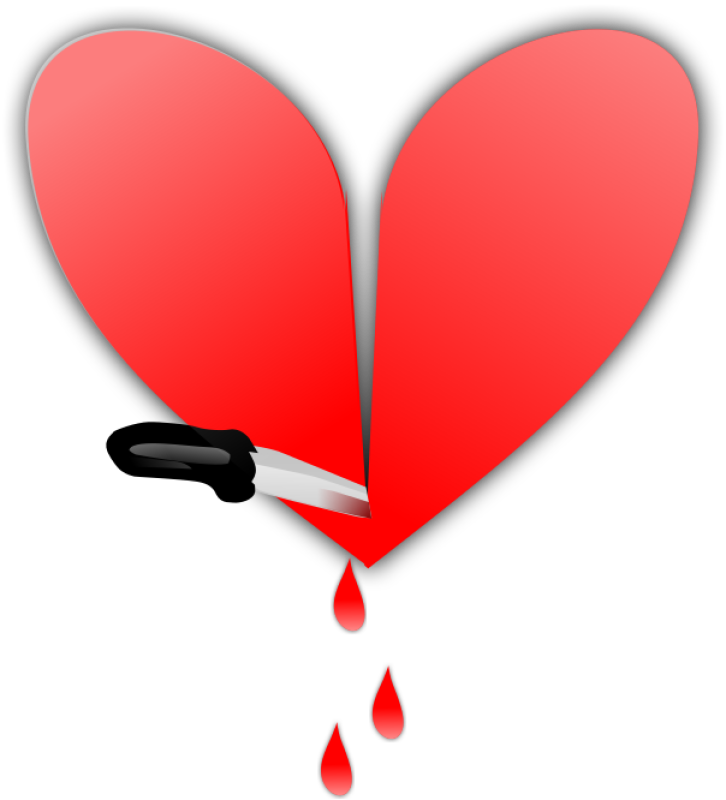 Broken Heart Clipart png free, Broken Heart transparent png