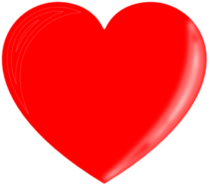 Red Heart 3 Clipart png free, Red Heart 3 transparent png