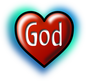 God Heart Clipart png free, God Heart transparent png