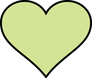 Green Heart Another Different Colour Clipart png free, Green Heart Another Different Colour transparent png