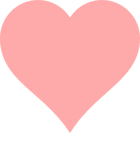 Baby Pink Heart Clipart png free, Baby Pink Heart transparent png