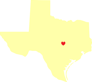 Pale Yellow Texas Hear Large Clipart png free, Pale Yellow Texas Hear Large transparent png