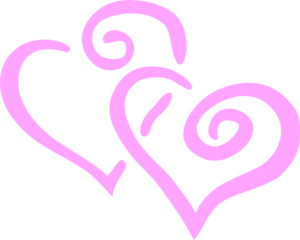 Dbl Heart Clipart png free, Dbl Heart transparent png