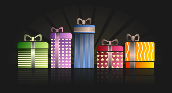Gifts / Presents Clipart png free, Gifts / Presents transparent png