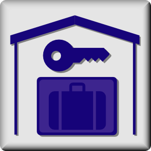 Hotel Icon In Room Baggage Locker Clipart png free, Hotel Icon In Room Baggage Locker transparent png