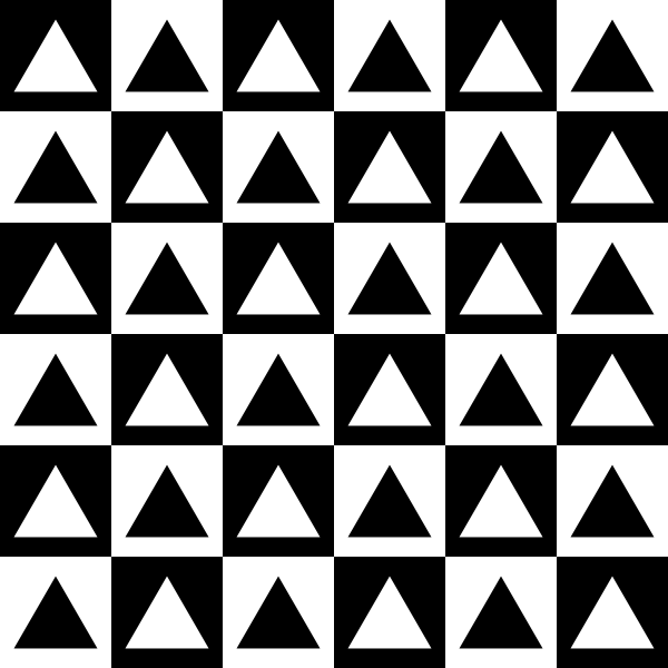 Triangles Inside Chess Board Clipart png free, Triangles Inside Chess Board transparent png