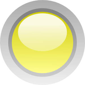 Led Circle (Yellow) Clipart png free, Led Circle (Yellow) transparent png