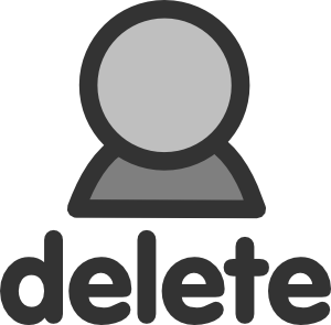 Delete User Clipart png free, Delete User transparent png