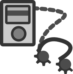 Mp3 Player Device Clipart png free, Mp3 Player Device transparent png