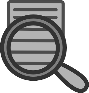 Document Search Clipart png free, Document Search transparent png