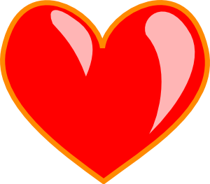 Heart 2 Clipart png free, Heart 2 transparent png