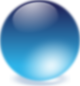 Blue Cristal Ball Clipart png free, Blue Cristal Ball transparent png