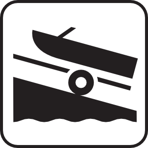 Boat Launch White Clipart png free, Boat Launch White transparent png