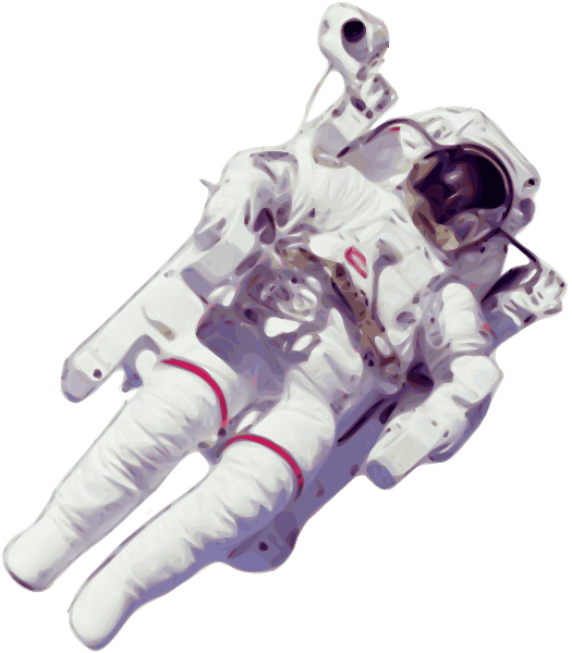 Astronaut Small Version Clipart png free, Astronaut Small Version transparent png