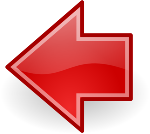 Red Go Previous Clipart png free, Red Go Previous transparent png