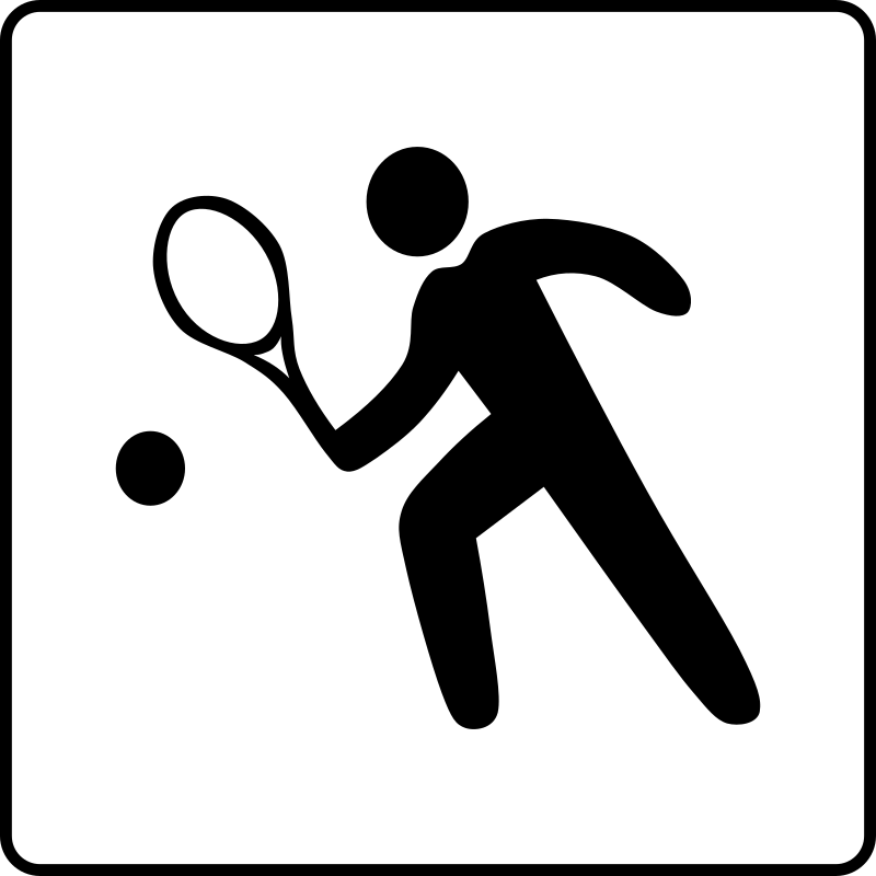 Hotel Icon Has Tennis Court Clipart png free, Hotel Icon Has Tennis Court transparent png