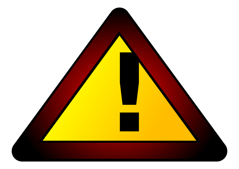 Warning Icon Clipart png free, Warning Icon transparent png