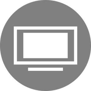 Tv Icon Clipart png free, Tv Icon transparent png