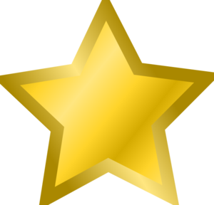 Yellow Star 3 Clipart png free, Yellow Star 3 transparent png