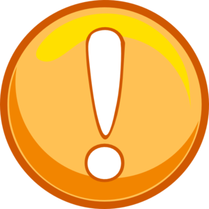 Orange Caution Icon Clipart png free, Orange Caution Icon transparent png