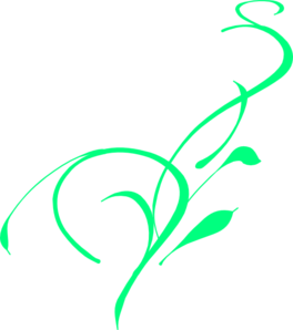 Green Vine Clipart png free, Green Vine transparent png