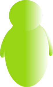 Green Person Avatar Clipart png free, Green Person Avatar transparent png