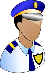 Police Prominant Badge Clipart png free, Police Prominant Badge transparent png