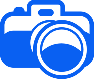 Blue Camera Pictogram Clipart png free, Blue Camera Pictogram transparent png