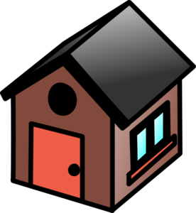 Brown House Icon Clipart png free, Brown House Icon transparent png