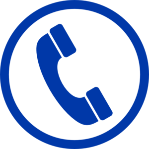 Blue Phone Clipart png free, Blue Phone transparent png