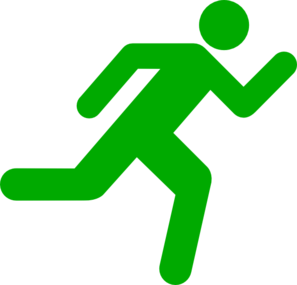 Green Running Icon On Transparent Background Clipart png free, Green Running Icon On Transparent Background transparent png