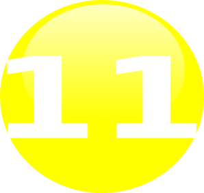 Glossy Yellow Circle Icon With 10 Clipart png free, Glossy Yellow Circle Icon With 10 transparent png