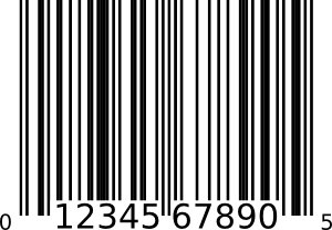 Upc-A Bar Code Clipart png free, Upc-A Bar Code transparent png