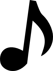 Musical Note 2 Clipart png free, Musical Note 2 transparent png
