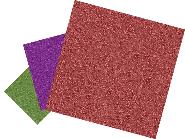 Green, Purple, And Red Sandpapers Clipart png free, Green, Purple, And Red Sandpapers transparent png