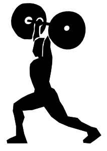 Weight Lifting 3 Clipart png free, Weight Lifting 3 transparent png