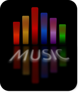Music Equalizer Clipart png free, Music Equalizer transparent png