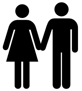 Man And Woman Icon 2 Clipart png free, Man And Woman Icon 2 transparent png