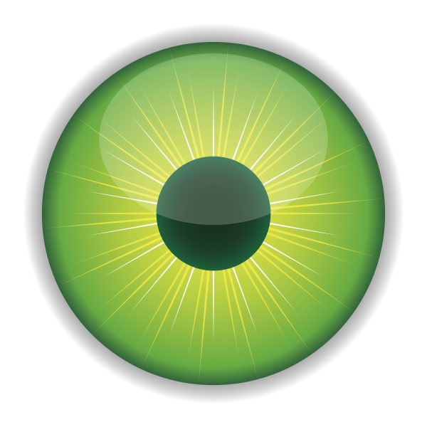 Green Eye Clipart png free, Green Eye transparent png