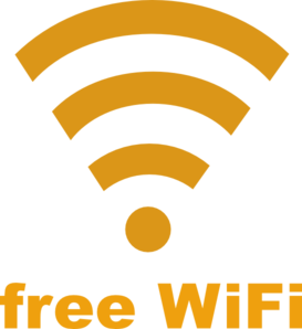 Free Wifi Logo Clipart png free, Free Wifi Logo transparent png